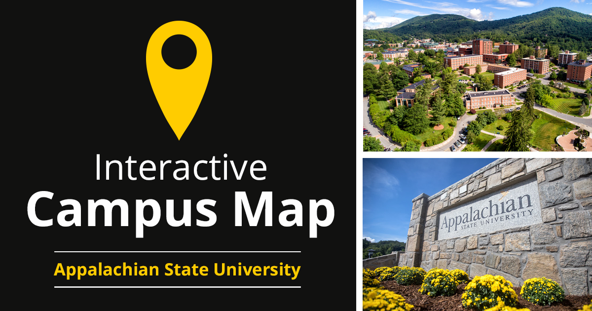 Interactive Campus Map Appalachian State University